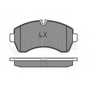 MEYLE 025 292 0020 Колодки передні DB Sprinter/ VW Crafter 5T 06- (Brembo)