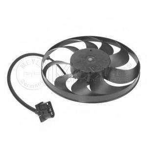 Вентилятор, охлаждение двигателя 1002360019 meyle - SKODA FABIA (6Y2) Наклонная задняя часть 1.4 16V