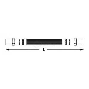 Тормозной шланг 1006110002 meyle - AUDI 80 (81, 85, B2) седан 1.3