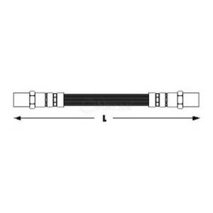 Тормозной шланг 1006110012 meyle - AUDI 80 (81, 85, B2) седан 1.3