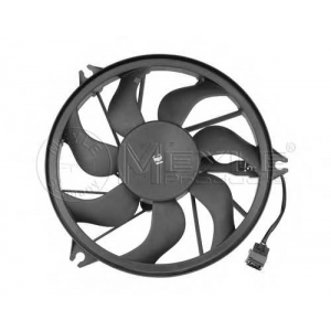 Вентилятор, охлаждение двигателя 11142320003 meyle - PEUGEOT 206 Наклонная задняя часть (2A/C) Наклонная задняя часть 1.1 i