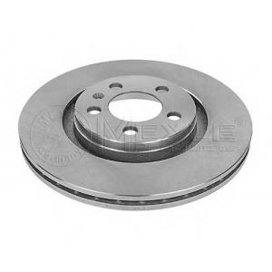 Тормозной диск 1155211027 meyle - AUDI A3 (8L1) Наклонная задняя часть 1.6