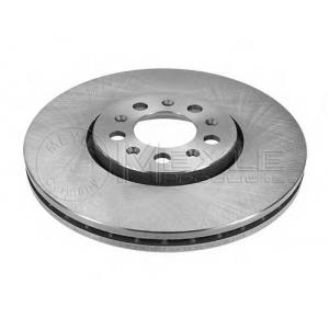 Тормозной диск 1155211051 meyle - AUDI A3 (8L1) Наклонная задняя часть 1.6