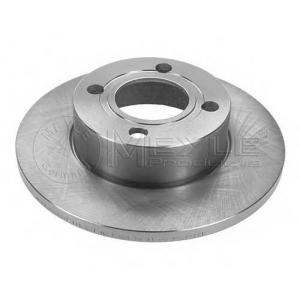 Тормозной диск 1155211087 meyle - AUDI 80 (8C, B4) седан 1.9 TD