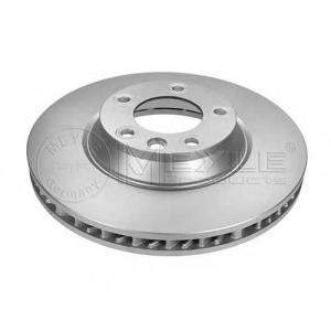 Тормозной диск 1155211103pd meyle - PORSCHE CAYENNE вездеход закрытый 4.8 Turbo