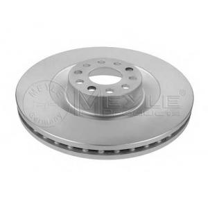 Тормозной диск 1155211123pd meyle - VW PHAETON (3D_) седан 6.0 W12 4motion
