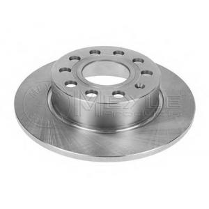 Тормозной диск 1155231046 meyle - AUDI A3 (8P1) Наклонная задняя часть 2.0 FSI