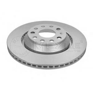 Тормозной диск 1155231093pd meyle - AUDI A3 (8P1) Наклонная задняя часть 3.2 V6 quattro