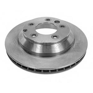 Тормозной диск 1155231105 meyle - PORSCHE CAYENNE (955) вездеход закрытый S 4.5