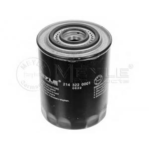 Масляный фильтр 2143220001 meyle - LANCIA THEMA (834) седан 2500 Turbo D (834D)