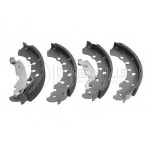 Комплект тормозных колодок 2145330010 meyle - FIAT PUNTO EVO Наклонная задняя часть 1.2