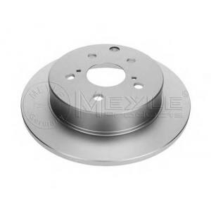 MEYLE 30-15 523 0043/PD Тормозной диск задний PLATINUM, TOYOTA RAV 4 III