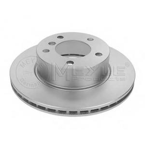Тормозной диск 3155213062pd meyle - BMW 1 (E81, E87) Наклонная задняя часть 116 i