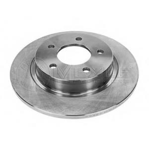 MEYLE 35-15 523 0024 Тормозной диск задний Mazda 3 BK, 3 BL