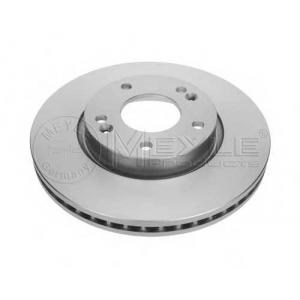 MEYLE 37-15 521 0004/PD Тормозной диск вентилируемый передний PLATINUM