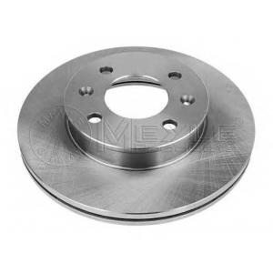 37155210006 meyle Тормозной диск HYUNDAI GETZ Наклонная задняя часть 1.5 CRDi