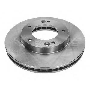 Тормозной диск 37155210019 meyle - KIA SORENTO (JC) вездеход закрытый 2.5 CRDi
