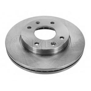 Тормозной диск 37155210021 meyle - HYUNDAI ELANTRA (XD) Наклонная задняя часть 1.6