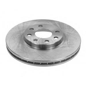 Тормозной диск 6155216016 meyle - OPEL CORSA C (F08, F68) Наклонная задняя часть 1.8