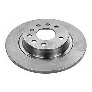 Тормозной диск 6155236025 meyle - OPEL VECTRA C седан 2.2 16V