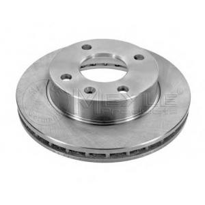 Тормозной диск 7155217006 meyle - FORD ESCORT IV (GAF, AWF, ABFT) Наклонная задняя часть 1.1