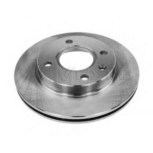 7155217017 meyle Тормозной диск FORD FIESTA Наклонная задняя часть 1.1