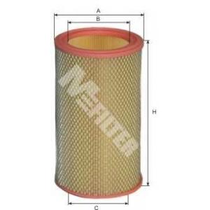 M-FILTER A107 Фильтр воздушный CITROEN (пр-во M-filter)