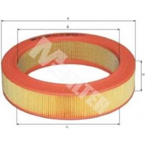 M-FILTER A112 Фильтр воздушный RENAULT (пр-во M-Filter)