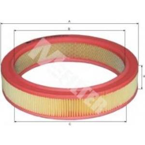 M-FILTER A124 Фильтр воздушный SKODA FAVORIT (пр-во M-filter)