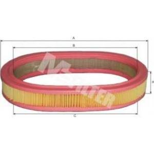 M-FILTER A126 Фильтр воздушный FORD Escort (пр-во M-Filter)