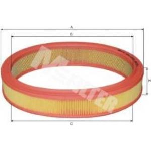 M-FILTER A251 Фильтр воздушный FORD Escort (пр-во M-Filter)