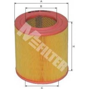 a269 mfilter Фильтр воздушный MAZDA  626  2.0D (пр-во M-Filter)
