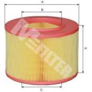 M-FILTER A277 Фильтр воздушный RENAULT Megane 1.9D, 2.0i  95-, R19 i,D, R21 1.7  (пр-во M-Filter)