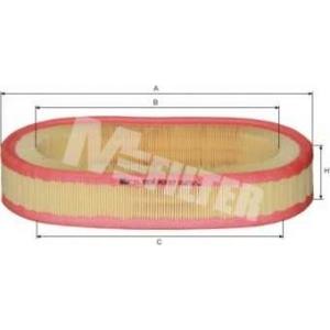 a337 mfilter Фільтр повітряний DB W201 200/230E >88, W124 230