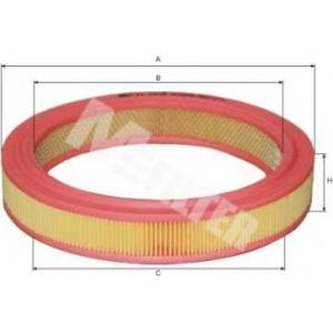 Воздушный фильтр a386 mfilter - RENAULT SUPER 5 (B/C40_) Наклонная задняя часть 1.7 (B/C408)