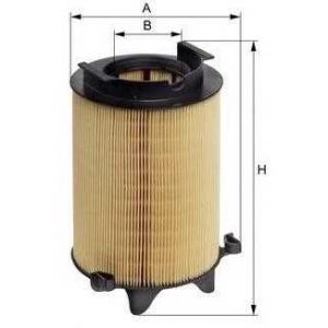 M-FILTER A886 Фильтр воздушный SKODA OCTAVIA, VW PASSAT (пр-во M-Filter)