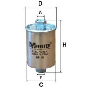 MFILTER BF10 Фильтр топливный