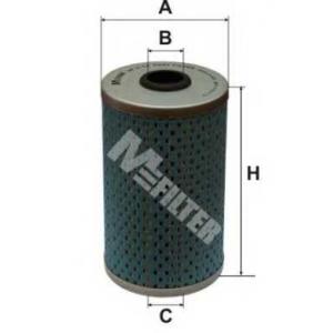 M-FILTER DE3114 Фильтр топл. NISSAN, OPEL (пр-во M-Filter)