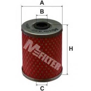 M-FILTER DE3115 Фильтр топл.OPEL Astra G, Corsa-C, Frontera, Vectra-B, Vectra-C (пр-во M-Filter)
