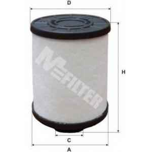 M-FILTER DE3118 Фильтр топл. CITROEN, OPEL, CHEVROLET (пр-во M-filter)