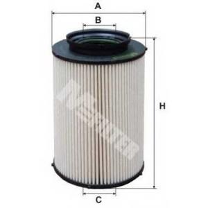 M-FILTER DE3124 Фильтр топл. Audi A3, VW, SEAT, SKODA (пр-во M-Filter)