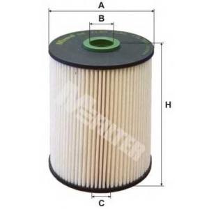 M-FILTER DE3130 Фильтр топл. SKODA Octavia II (пр-во M-Filter)