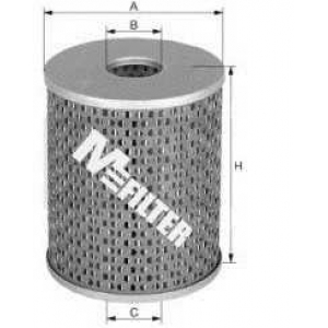 M-FILTER DE688 Фильтр топл. CITROEN, PEUGEOT, RENAULT (пр-во M-filter)