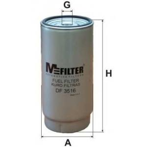 MFILTER DF 3516 Фильтр топливный