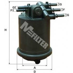 MFILTER DF 3517 Фильтр топливный