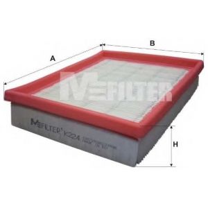 M-FILTER K224 Фильтр воздушный PEUGEOT (пр-во M-filter)