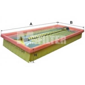 M-FILTER K249 Фильтр воздушный MB (пр-во M-filter)