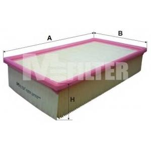 M-FILTER K293 Фильтр воздушный AUDI A6 (пр-во M-filter)