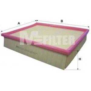 M-FILTER K372 Фильтр воздушный MERCEDES C180,200D,220D,250D,280 (W202), CLK 200,230,320,430 (пр-во M-filter)