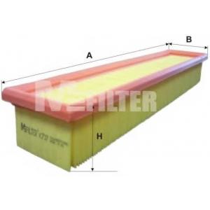 M-FILTER K737 Фильтр воздушный RENAULT (пр-во M-filter)